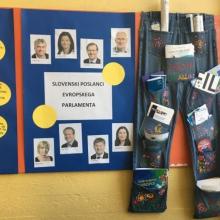 Kotiček za projekt Šola ambasadorka Evropskega parlamenta