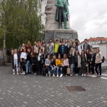 Obisk hiše EU v Ljubljani in prireditev KORENINE IN KRILA EU